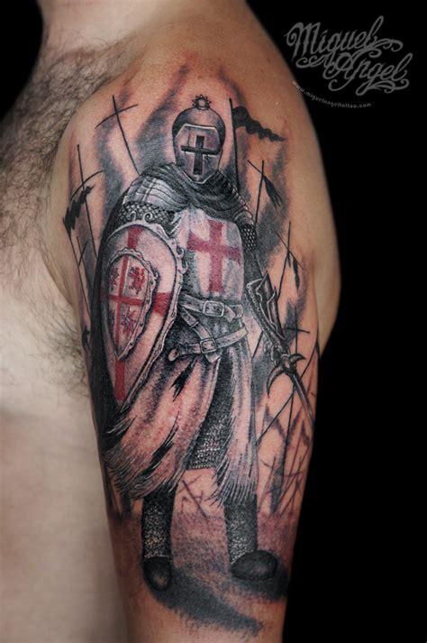 tattoo angel knight fluidr knight templar tattoo by miguel angel tattoo