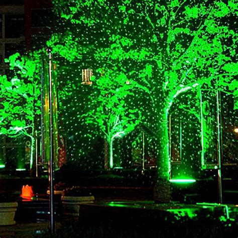 waterproof outdoor garden landscape lighting rgb laser
