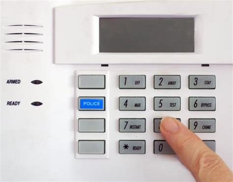 Panel Alarm System will my home alarm system go for no reason
