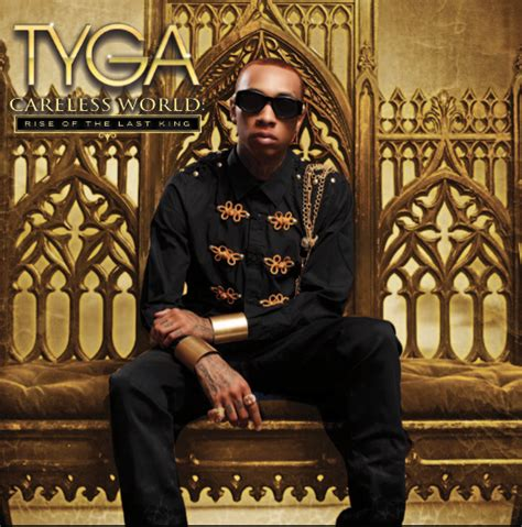 Rack City Club by Tyga Careless World Rise Of The Last King Album Cover