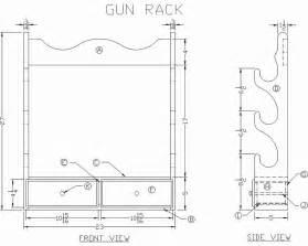 woodwork plans for wooden gun rack pdf plans