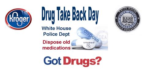 kroger white house tn drug take back day in springfield and white house