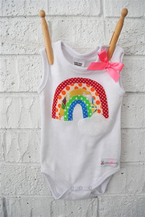 Boogy Baby Raindrop Top Trousers 12 18m rainbow onesie bodysuit cloud baby newborn singlet bubby makes three