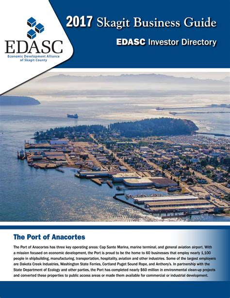 millions for state house upgrade port project economics edasc 2017 by skagit publishing issuu