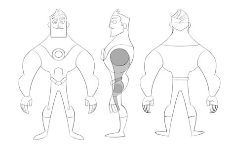 body templates for blender character modelsheet by jfsouzatoons on deviantart