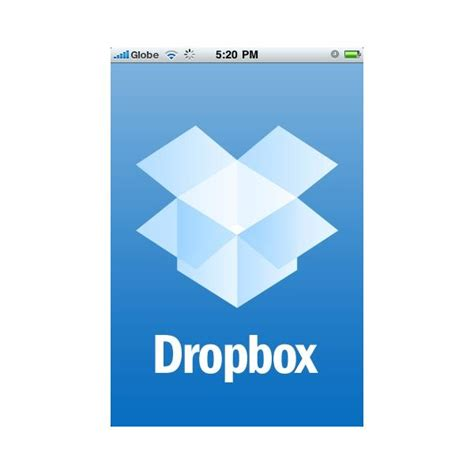dropbox just says connecting five apple iphone file share apps