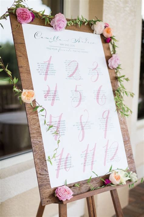 wedding table seating best 25 seating chart wedding ideas on