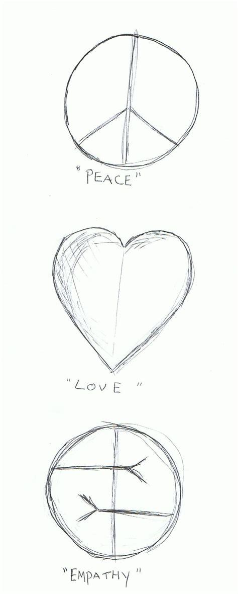 tattoo peace love empathy peace love empathy by roxxiwarhol on deviantart