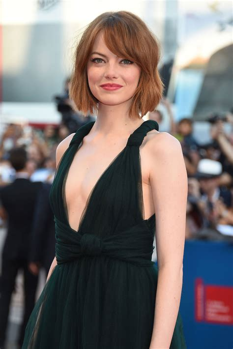 emma stone dad emma stone is the ultimate red carpet hair chameleon vogue