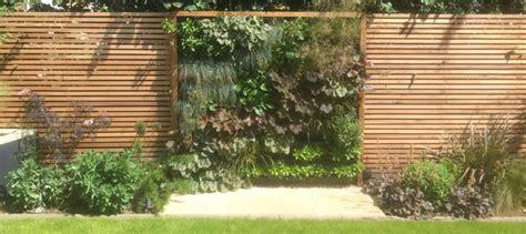 western red cedar cladding slatted screen fences garden