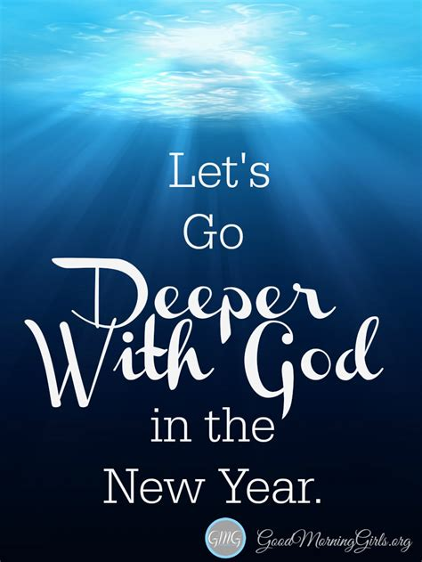 when does the new year let s go deeper with god in the new year living well