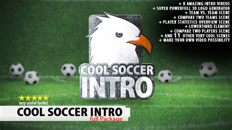 after effects templates free soccer cool soccer intro sports envato videohive after