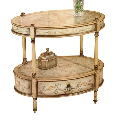 tuscan accent tables shop butler specialty artists originals tuscan cream hand