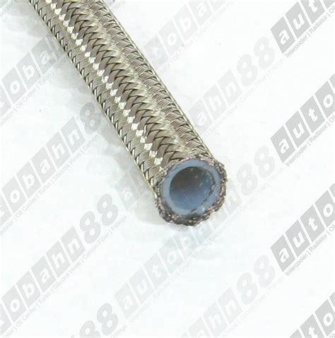 Teflon Stainless an 6 an6 an06 stainless steel braided ptfe telfon fuel