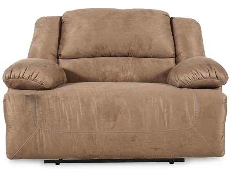in recliner oversized contemporary microfiber 59 quot recliner in mocha