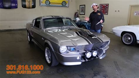 1967 ford mustang gt500e eleanor for sale with test drive