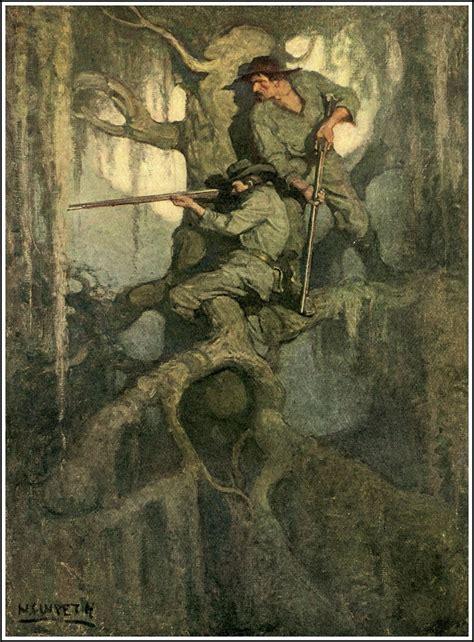 illustration  nc wyeth  cease firing  mary