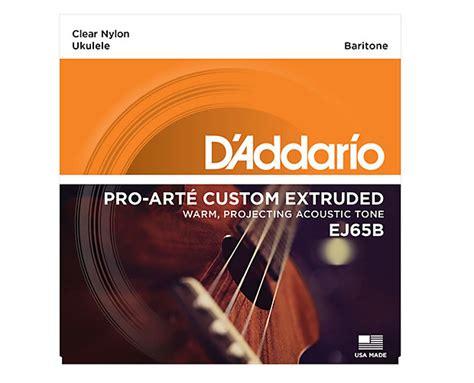 Pro Arte Strings - d addario ej65b pro arte custom extruded baritone ukulele