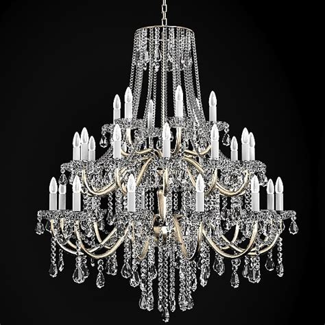 Pictures Of Chandeliers Chandelier Classic 3d Model