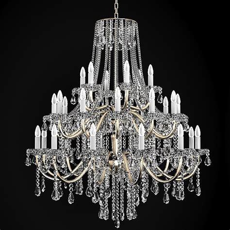 d chandelier chandelier classic 3d model