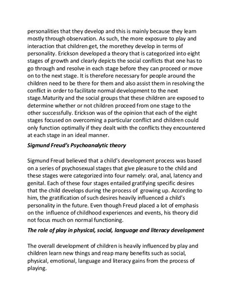 thesis abstract about child development college essays college application essays child