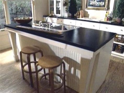 sink in island kitchen sink options diy