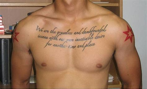 tattoo inspiration chest 30 perfect short quotes for tattoos creativefan