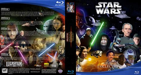 printable star wars dvd covers star wars collection movie blu ray custom covers star
