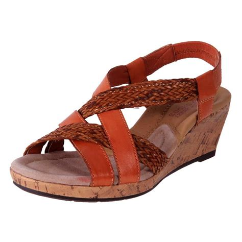 new planet shoes s comfort leather wedge strappy