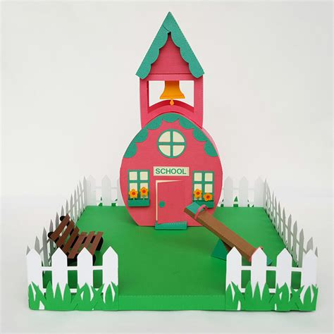 the egg house easter egg village schoolhouse pazzles craft room