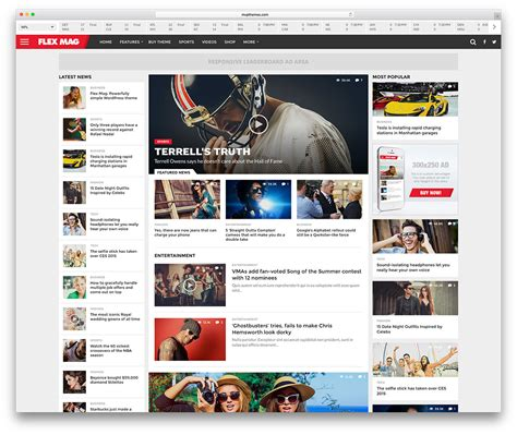 awesome wordpress sports themes for news sites sports