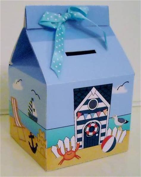 How To Make A Paper Money Box - 3d hut milk money or treat box mini