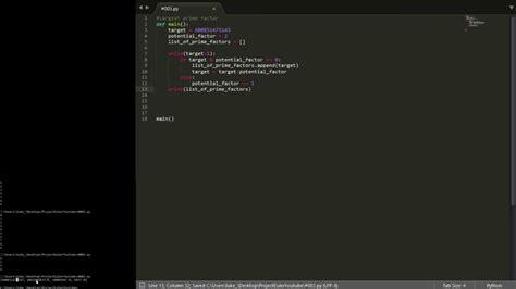 tutorial python project python beginner tutorial series using project euler 3