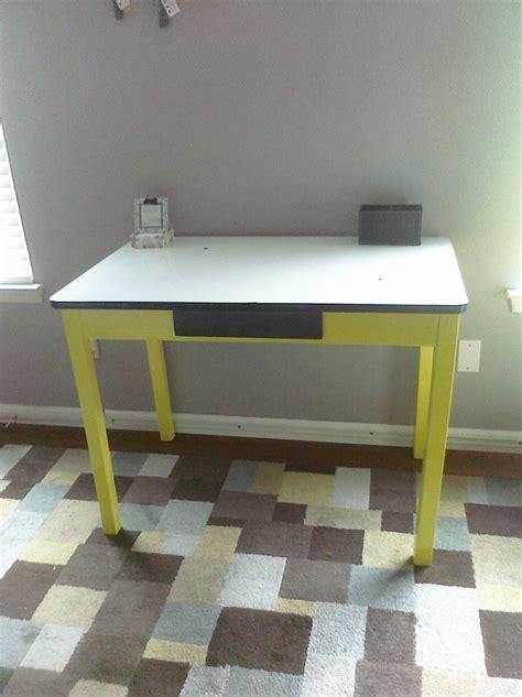 antique metal kitchen table antique kitchen table w white enamel metal top refinished