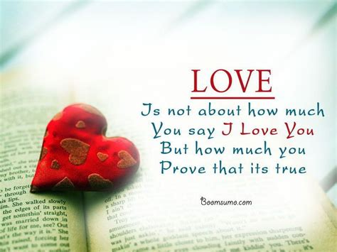 inspirational quotes about true love did you say i love you prove that inspirational true