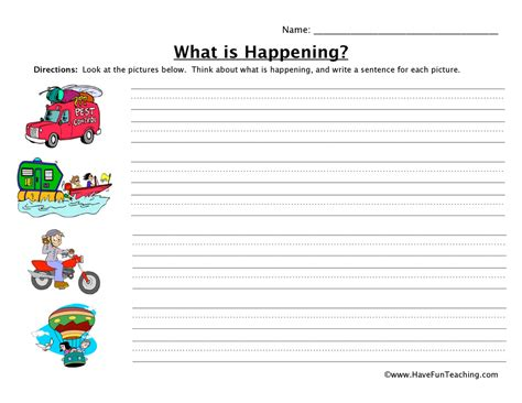 Kindergarten Sentence Writing Worksheets by Kindergarten Sentence Writing Worksheets Shadow Writing