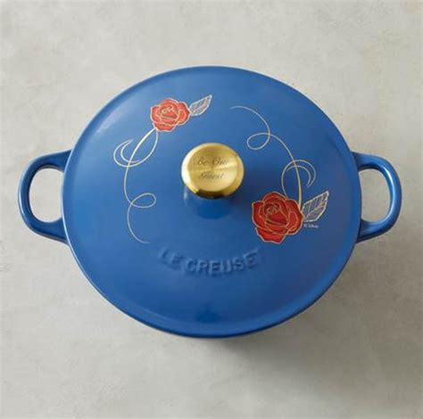 beauty and the beast pot williams sonoma be our guest le creuset cookware life