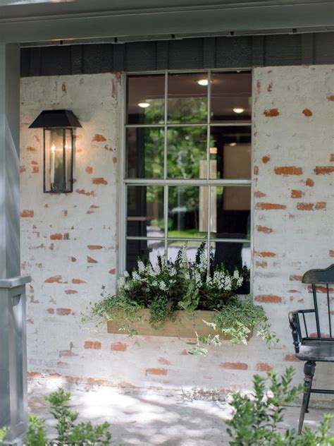 Brick Fireplace Paint Colors - hgtv fixer upper brick house is old world charm for newlyweds