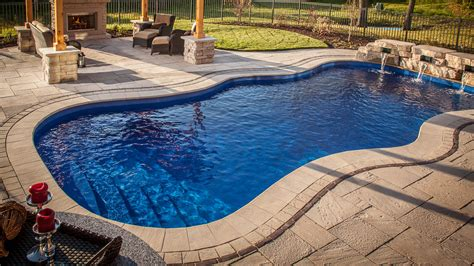 swimming pools swimming pools in oklahoma barrier reef fiberglass pools