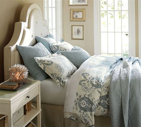 puffy headboard puffy bedding photo cozy bedroom ideas pinterest
