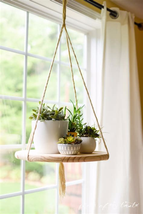 hanging plant diy 37 brilliantly creative diy shelving ideas diy joy