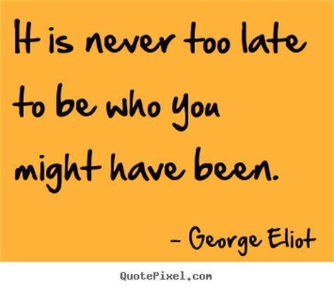 George Eliot Oh The Comfort by George Eliot Friendship Quote Like Success