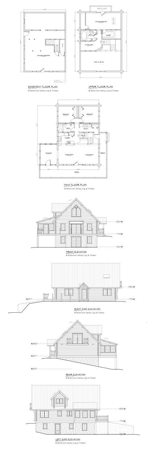 river house floor plans river house floor plan montana custom log homes