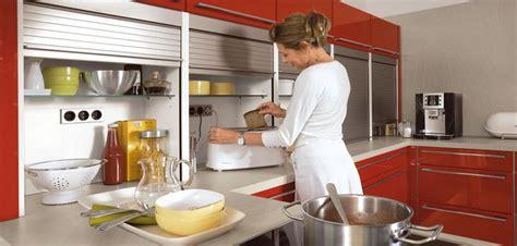 Accordion Kitchen Cabinet Doors Bauformat Small Appliance Garage Unit With Accordion Door Cabinet Details Bauformat