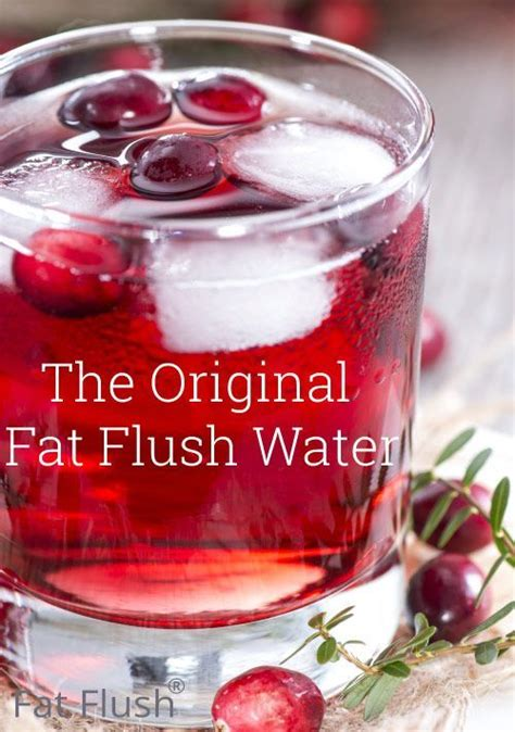 Cranberry Detox Recipe by Best 25 Flush Ideas On Burning Detox