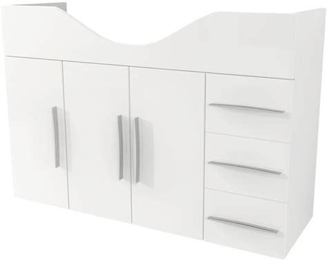 kommode weiß hochglanz 100 cm breit wei hochglanz 100 cm top scanbad samba badset in wei