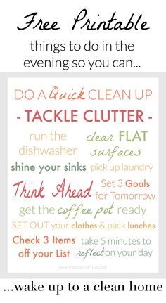 how to wake up to a clean home 1000 images about homemaking tips tricks on pinterest