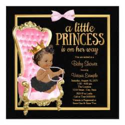 black baby shower invitations wblqual