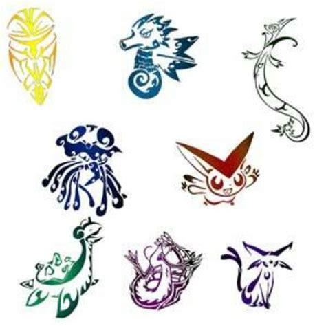 pokemon tattoo ideas tattoos tribal