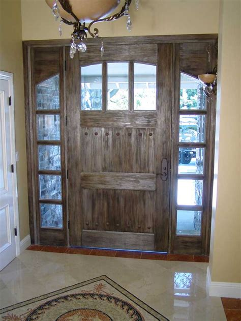 Rustic Front Door Pin By On Living Room